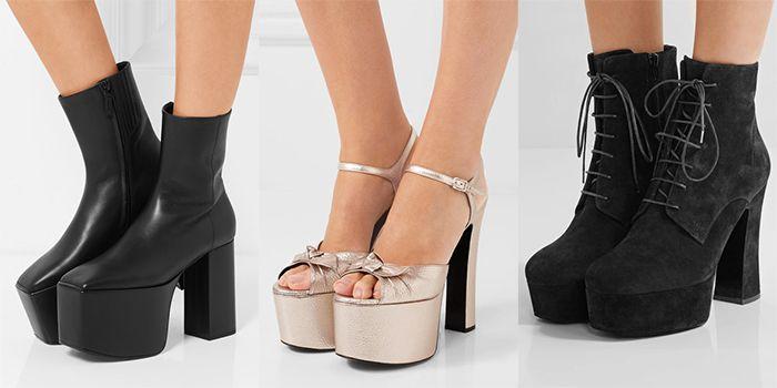 8cdd6bd3f Модная женская обувь 2017 на высокой платформе