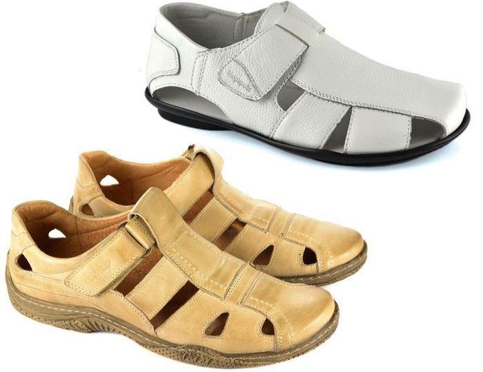 Какие купить закрытые мужские сандалии и как носить 8ac3118038fbc